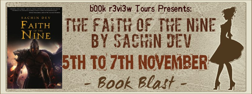 #BookBlast The Faith Of The Nine by Sachin Dev