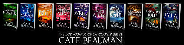 The Bodyguards Of L.A. County Series by Cate Beauman -Fun Facts #Giveaway