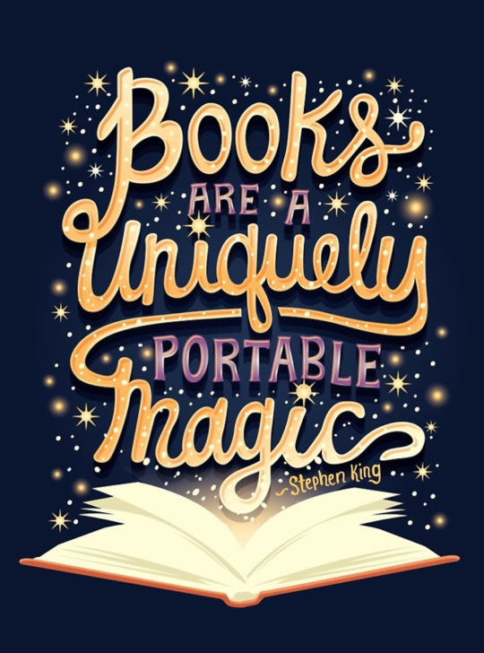 Books-are-a-uniquely-portable-magic-Stephen-King-book-quote-540x728