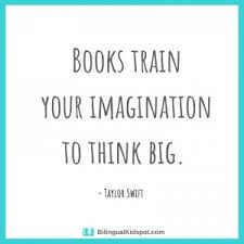 books train your imagination